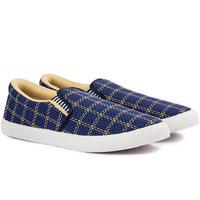 Pan Lifestyle Men Blue Lace-Up Casual Shoes