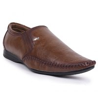 Shoes Bucket Mens Brown Slip On Formal Shoes SB3178