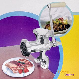 Details about Hand Meat Size 8 Cast Iron Hand Meat Mincer Manual Grinder Sausage Mince Maker
