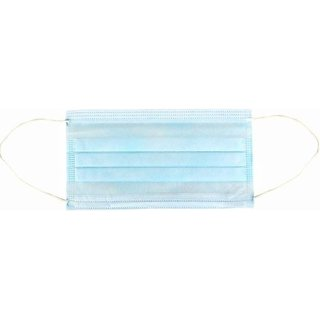 Envyon Pack Of 100 Pcs Ear Loop Medical Surgical Blue Dust Face Mask Hydrocolloid Medical Dressing
