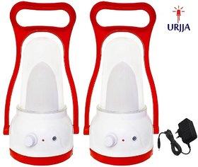 Urjja Buy 1 Get 1 Led 12W Rechargeable Red Emergency Desk Lights