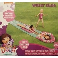 Dora The Explorer Water Slide -- Bonus Body Board -- 15