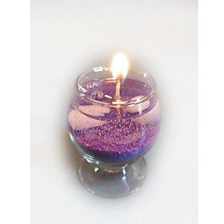 Decorative Glass Diyas (midium) Violet