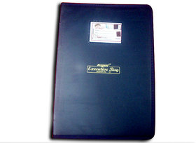 Executive - File folder (7 pockets  6 Strips ) with Zipper