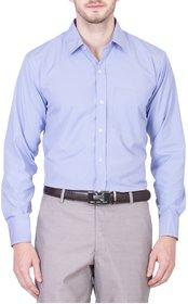 Akaas Blue Full sleeves Formal Shirt For Men