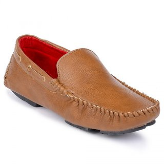 Shoes Bucket Tan Loafers SB5012