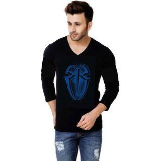 Trendmakerz Men's Black V-Neck T-Shirt: Buy Trendmakerz Men's ...