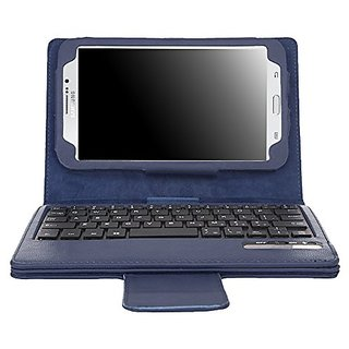 big sale 4f3e2 a69e1 MoKo Samsung Galaxy Tab 3 7.0 Keyboard Case - Wireless Bluetooth Keyboard  Cover Case for Samsung Galaxy Tab 3 7.0 Inch Android Tablet, INDIGO (WILL  ...