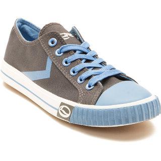 buy lancer men's gray  blue laceup casual shoes online