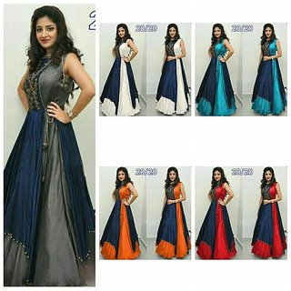 Aanek  Fashions Women's  Gown (1Pics)