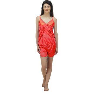 e3e4021c3f Buy Arlopa 2 Pieces Nightwear in satin Online - Get 77% Off