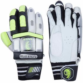 Right Hand Batting Gloves- Mens Green