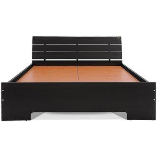 Sai Furniture Size Bed (Teak Finish, Brown....