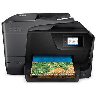 HP OfficeJet Pro 8710 e-All-in-One Printer (Print, Scan, Copy, Fax, Wireless, Duplex, Network) (D9L18A)