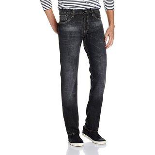 Lee Mens Black Slim Fit Jeans