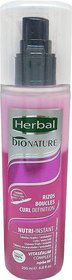Herbal Bionature Nutri -instant -Rizos/Boucles High Defination Biphacse Conditioner