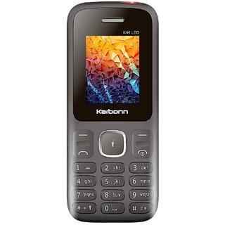 Karbonn K46 LED Dual Sim 1700 mAh Battery Feature Phones