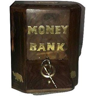 unique furniture wooden money bank.