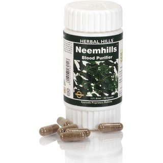 Neem 60 Capsule for Blood Purifier