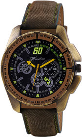 Timebre Men Sports Bronze Casual Analog Watch