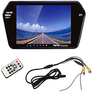 RWT 7 Inch Full HD Car Video Monitor For Tata Safari Dicor Rear Only