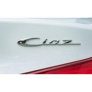 Logo MARUTI SUZUKI CIAZ Monogram Chrome Car Monogram Emblem BADGE