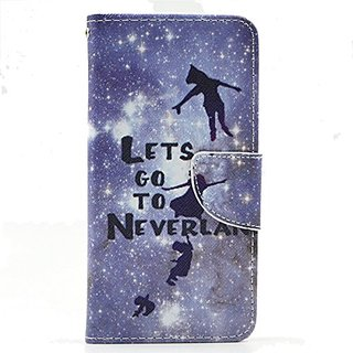G530H Case, Galaxy Grand Prime Case, Love Sound [Lets go to Neverland] Luxury PU Leather Case Flip Cover with Card Slots Stand for Samsung Galaxy Grand ...