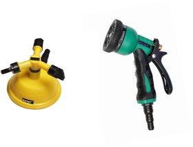 Ketsy 807 Gardening Water Spray Gun 8 Way Nozzle Heavy Duty