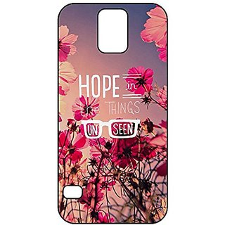 Buy Galaxy S5 Case Bible Verse Hope In The Things Unseen Quotes