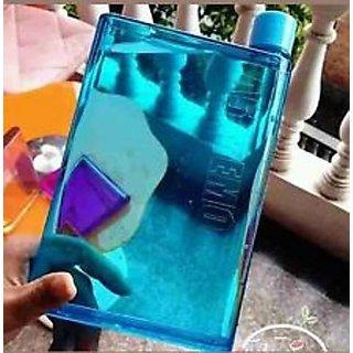 A5 Memo Note Book Ultra Sim Paper Bottle Flat Portable Water Bottle