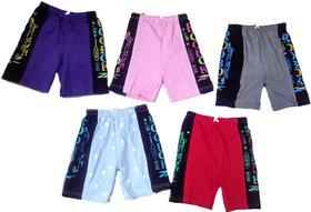 Kavya Fashion Boys Hosiery Bermuda Set of 5 Pieces