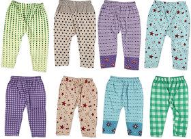 Guchu 100 Hosiery Cotton Baby Pyjama for Baby Boy, set of 8