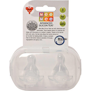 Mee Mee Pro-Flow Technology Silicone Teat_Large