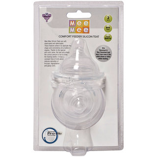Mee Mee Pro-Flow Technology Silicone Teat_Medium