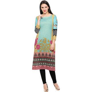 Ahalyaa Designer Summery Cotton Kurti for women