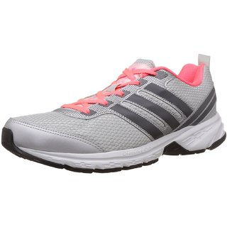 Adidas Women's Silver Sports Shoes