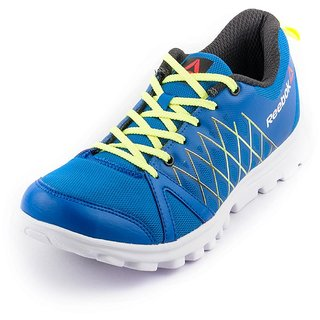 new style 377b7 1bef7 REEBOK MEN NAVY PULSE RUNNING SHOES price at Flipkart, Snapdeal ...