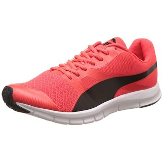 Puma Men'S Flexracer DP Red And Blast Black Sneakers ?