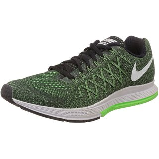 100% authentic cdbf2 0dc48 Nike Men S Air Zoom Pegasus 32 Green Strike, White And Black Running Shoes
