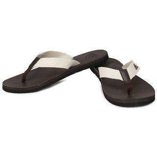 e1d5e885242a20 Buy Adidas Mens Brown White Slippers Online - Get 33% Off