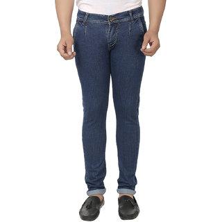 Kalpatru Blue Men's Slim Fit Jeans