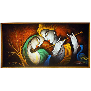 Buy radha krishna canvas painting online get 2 off for Where to buy canvas art