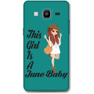 Samsung Galaxy On5 Designer Hard-Plastic Phone Cover From Print Opera -June Baby Girl