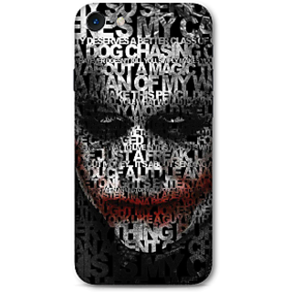 Iphone 7 Designer Hard-Plastic Phone Cover From Print Opera -Monochorome Joker