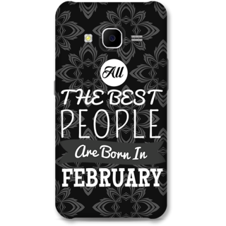 Samsung Galaxy J7 2015 Designer Hard-Plastic Phone Cover From Print Opera -Best People Born In February