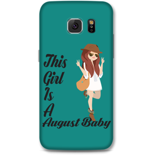 Samsung Galaxy S6 Designer Hard-Plastic Phone Cover From Print Opera -August Baby Girl