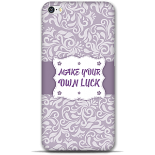 IPhone 6-6s Designer Hard-Plastic Phone Cover From Print Opera - Make Your Own Luck