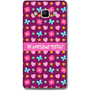 Samsung Galaxy A7 2015 Designer Hard-Plastic Phone Cover From Print Opera - Be Awesome Today