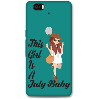 Google Nexus 6p Designer Hard-Plastic Phone Cover From Print Opera -July Baby Girl