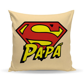 Sky Trends Gift For Dad Printed Cushion Cover Best Gift For Father Day